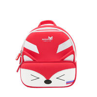 NHB096 school bag New arrival world cup animal fox backpack bags for boys