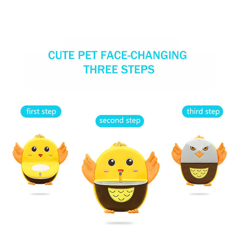 NHB126 New arrival lovely new designs neoprene animal kids face changing bag for children