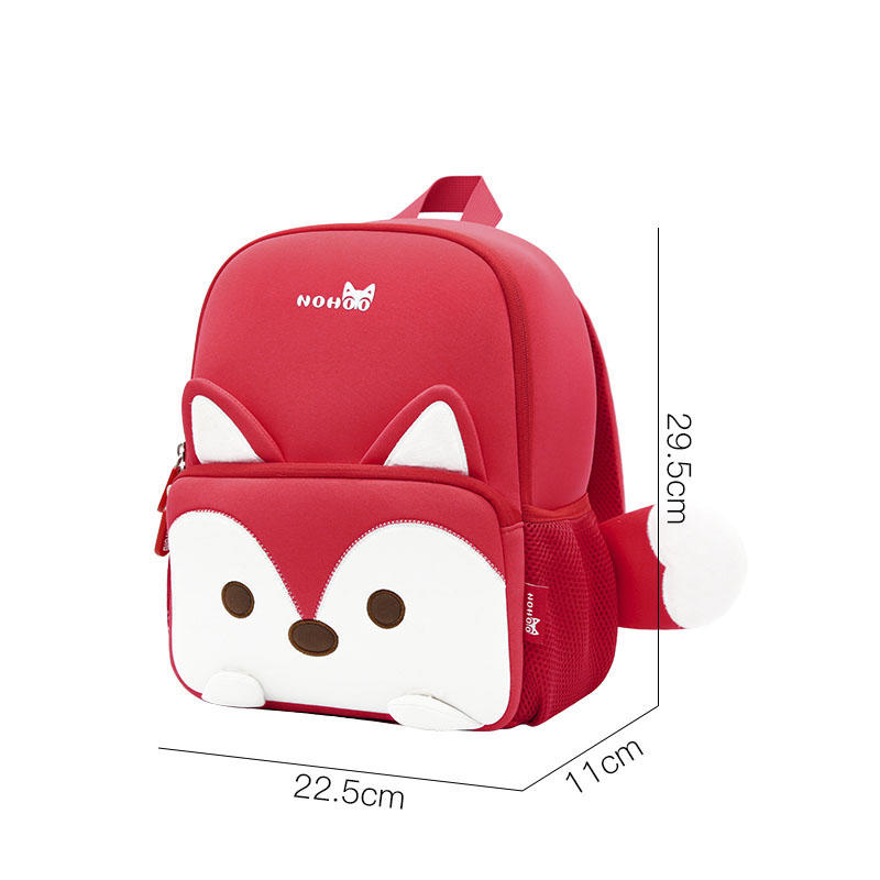 NHB136 2018 new style school bag for preschool child kids 3D Cartoon family backpack