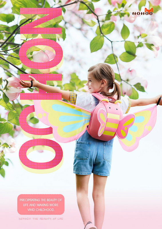 Nohoo Children Products-Nohoo Kids Backpack Face Score New Benchmark,defined By Me-1
