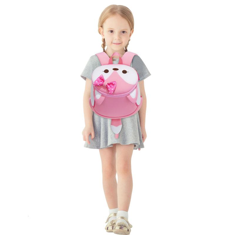 Nohoo Children Products-Nohoo Factory Wholesale Neoprene Lightweight Animal Zoo Backpack-3