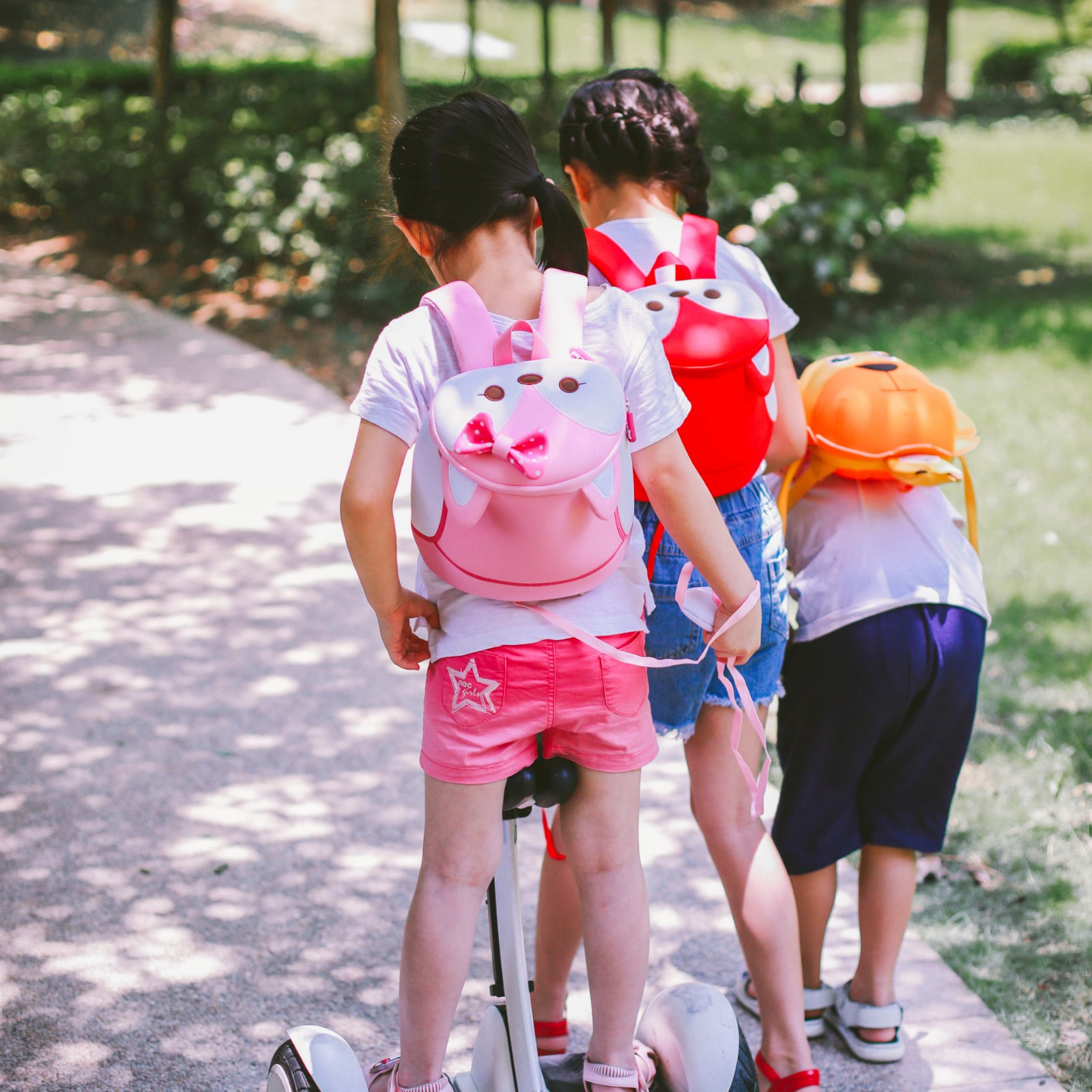 Nohoo Children Products-Nohoo Factory Wholesale Neoprene Lightweight Animal Zoo Backpack-4