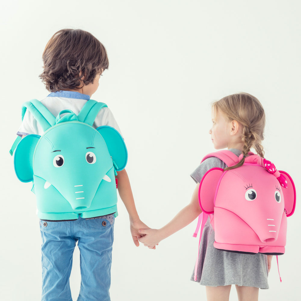 Nohoo Children Products-Neoprene Cute Kindergarten Toddler Safety Harness Backpack For Children-3