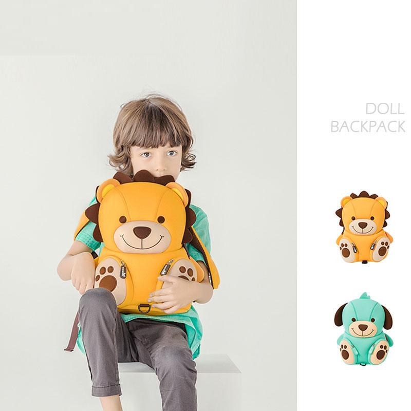 Nohoo Children Products-Nh080 Neoprene Lovely Lion Cartoon Custom Children Rucksacks-3