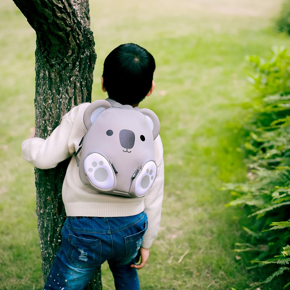 Nohoo Children Products-Koala Neoprene Animal Children Bag Boys Girls Toddlers Daily Backpack-3