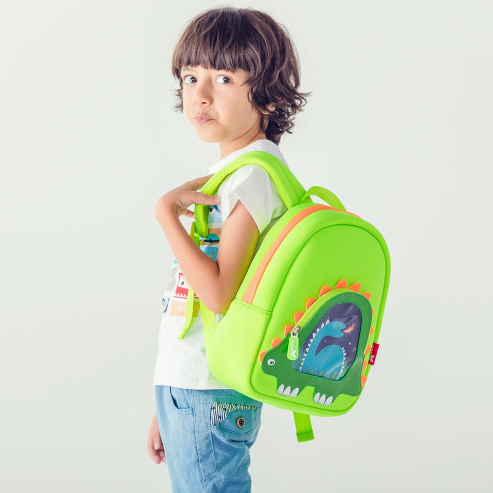 Nohoo Children Products-Hot Sell Neoprene Children Backpack Top Quality Dinosaur Kindergarten-1
