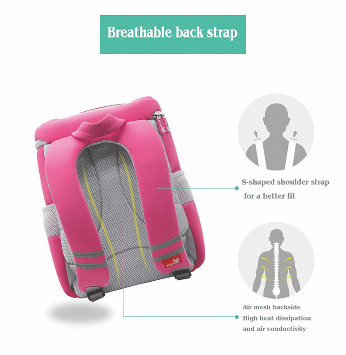 Nohoo Children Products-News About How To Choose A Good Children School Bag Which Brand Is Better -6