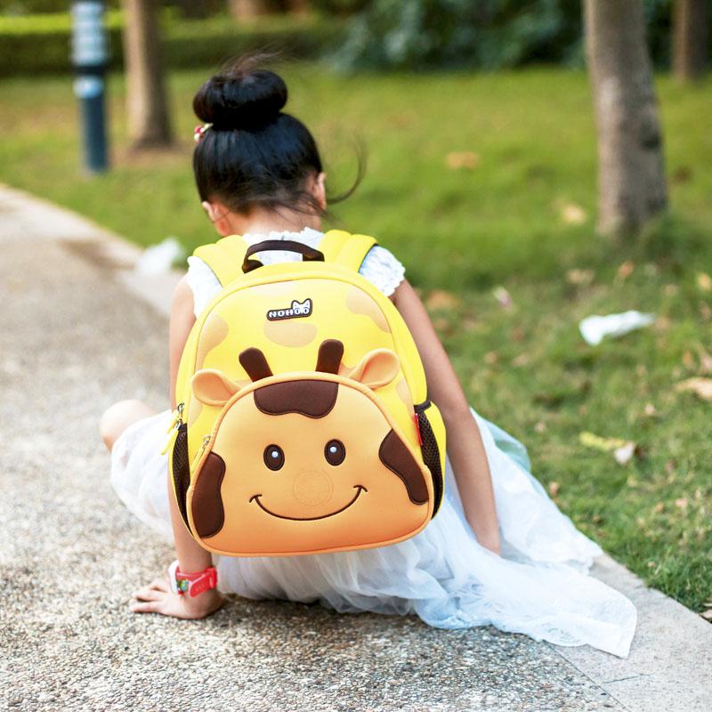 Nohoo Children Products-Custom Design Funny Neoprene Comfortable Kids School Bag For Students-1