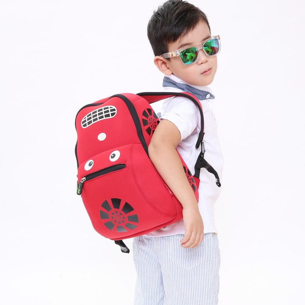 Nohoo Children Products-Nh003 Car Style Children School Bag Fashion Neoprene Backpack For Boys-1