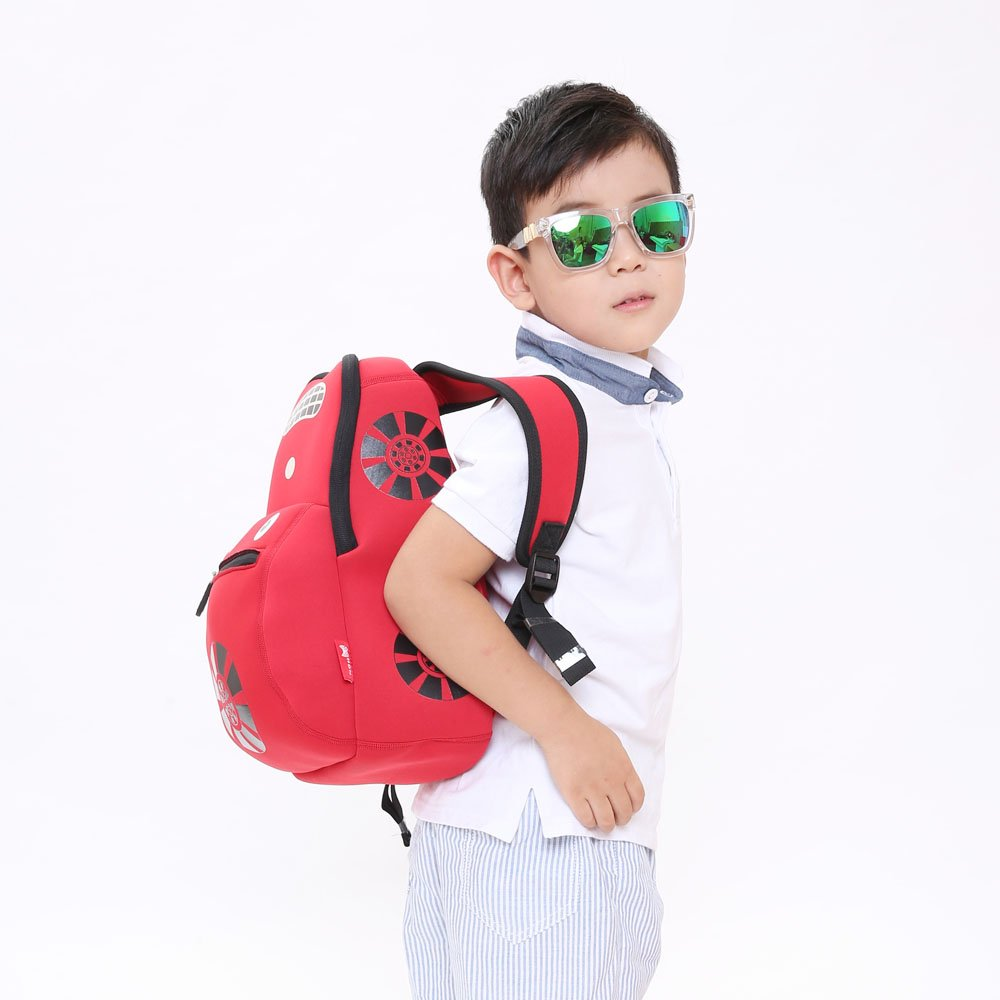 Nohoo Children Products-Nh003 Car Style Children School Bag Fashion Neoprene Backpack For Boys-2