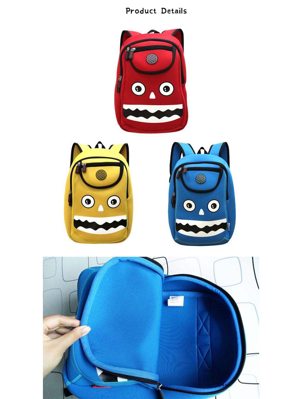 Nohoo Children Products-High Quality Nohoo Factory Cartoon School Outdoor Kids Bag