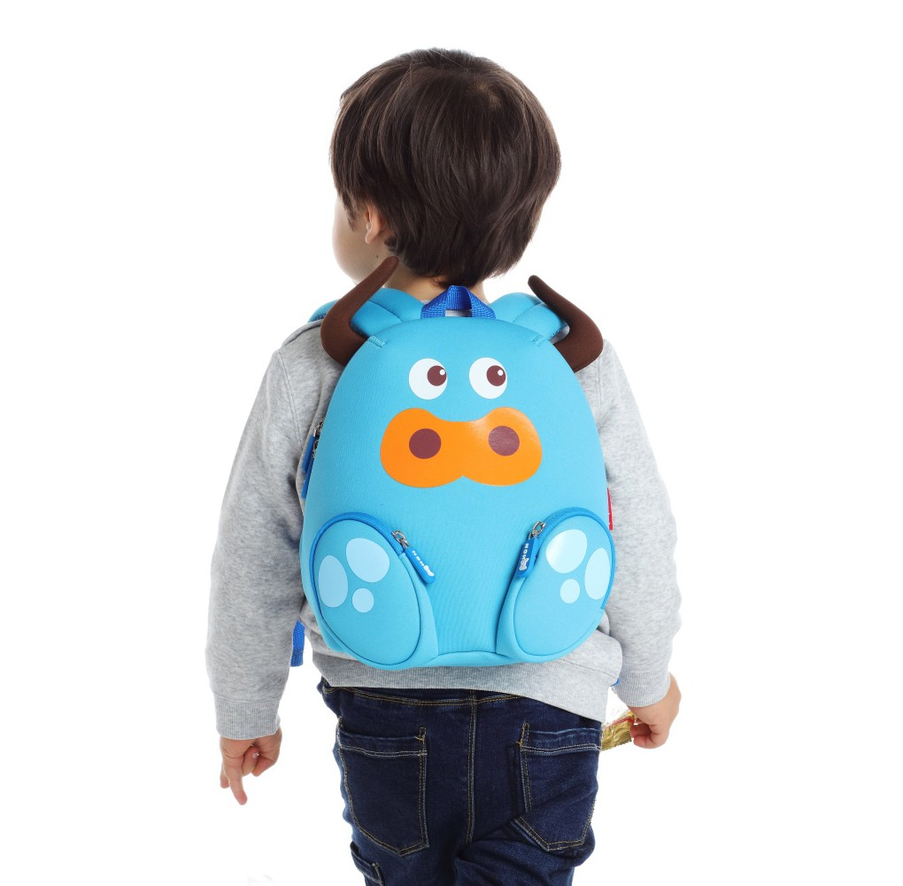Nohoo Children Products-Nh045 Cattle Animal Children Backpack Camping Bags For Small Kids-3