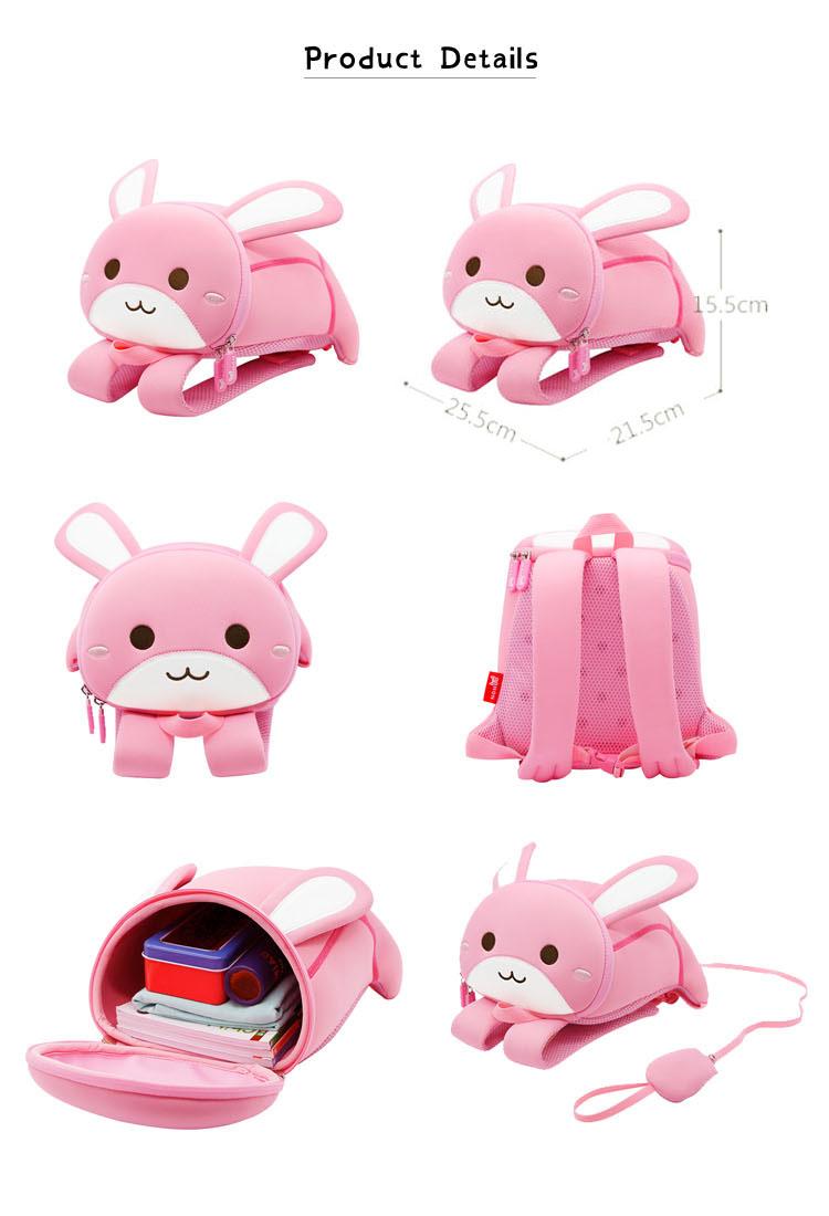Nohoo Children Products-Girls School Bags kids Trolley Bag On Nohoo Children Products