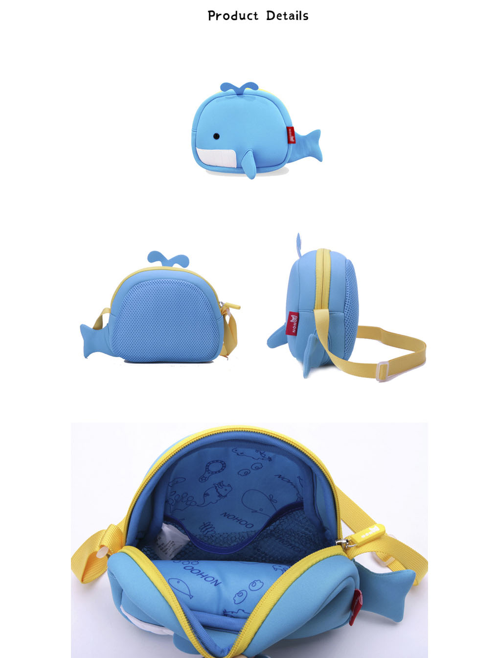 Nohoo Children Products-Small Canvas Messenger Bag Custom Messenger Bags Manufacture
