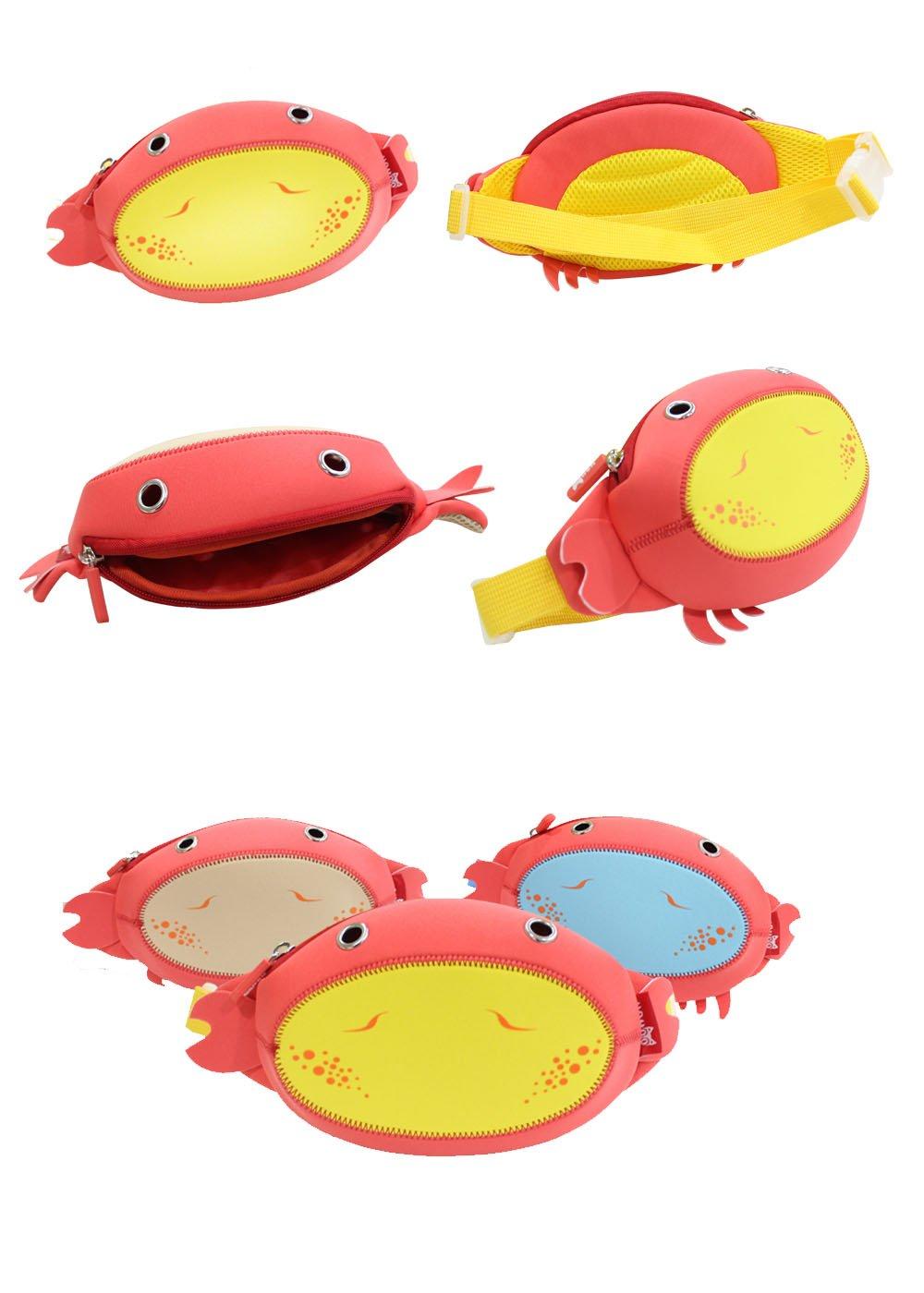 Nohoo Children Products-Neoprene Lightweight Kindergarten Baby Waist Bag For Preschool Kids
