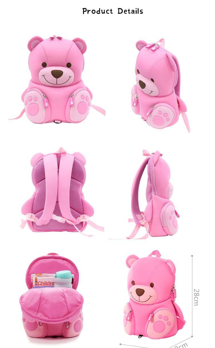 Nohoo Children Products-Nohoo Neoprene Eco-friendly Kids School Bag Preschool Backpack