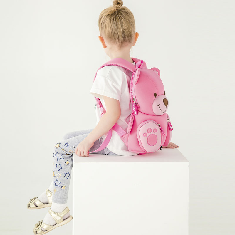 Nohoo Children Products-Nohoo Neoprene Eco-friendly Kids School Bag Preschool Backpack-1