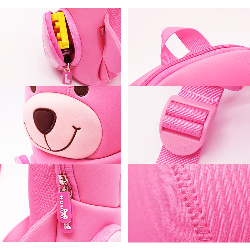 Nohoo Children Products-Nohoo Neoprene Eco-friendly Kids School Bag Preschool Backpack-4