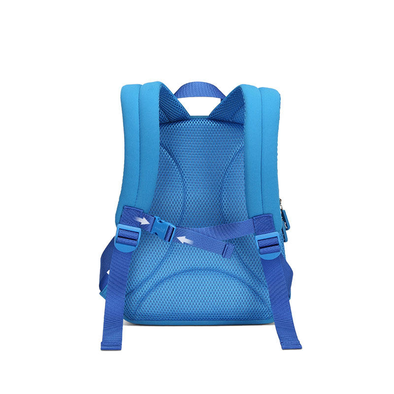 NHB117 new design dinosaur neoprene school Backpack for toddler