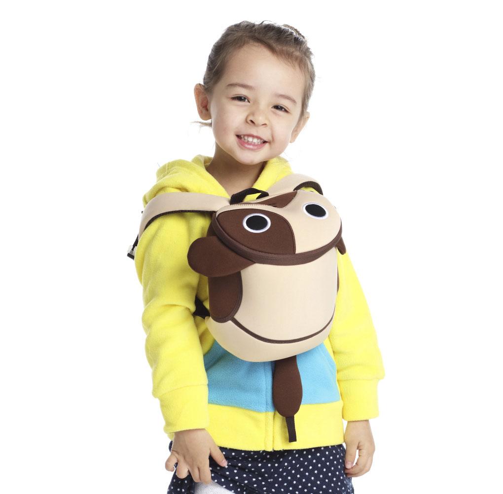 Nohoo Children Products-Nh049 Popular Softback Neoprene Children Anti Lost Backpack For Kids-3