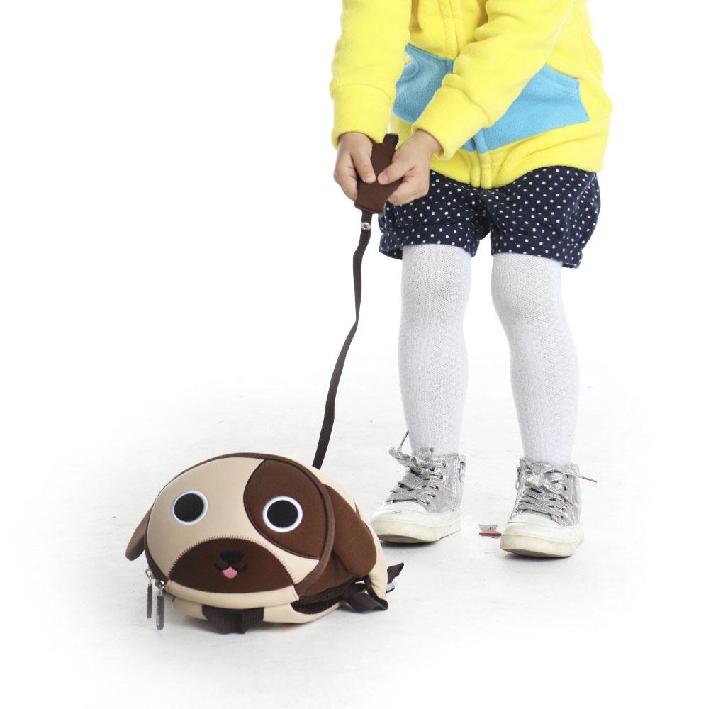 Nohoo Children Products-Nh049 Popular Softback Neoprene Children Anti Lost Backpack For Kids-4