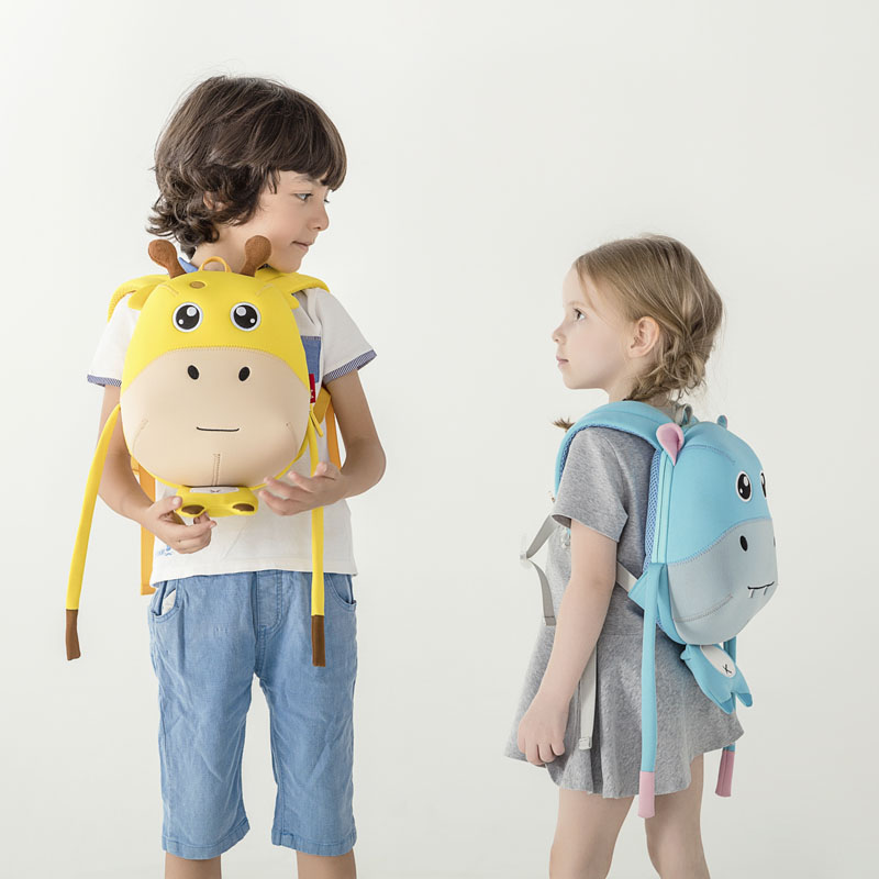 Nohoo Children Products-Wholesale Soft Lightweight Anti Lost Kindergarten Backpack For school-3