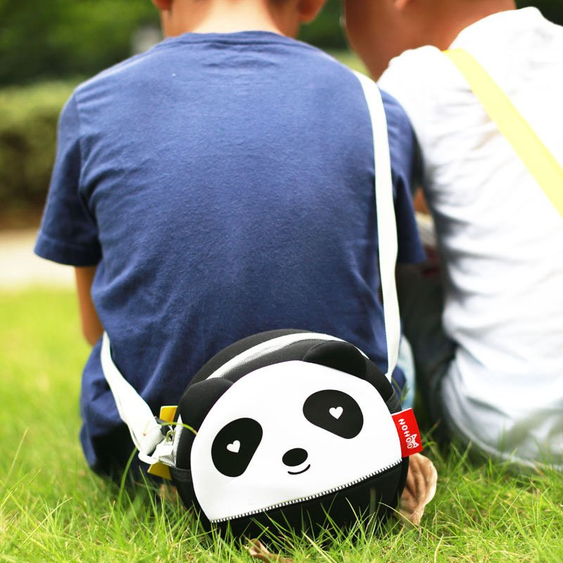 Nohoo Children Products-High Quality Unisex 3d Panda Baby Bag Neoprene Messenger Bag-3