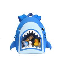NHB186 New arrival cute and vivid shark toddler Backpack bag