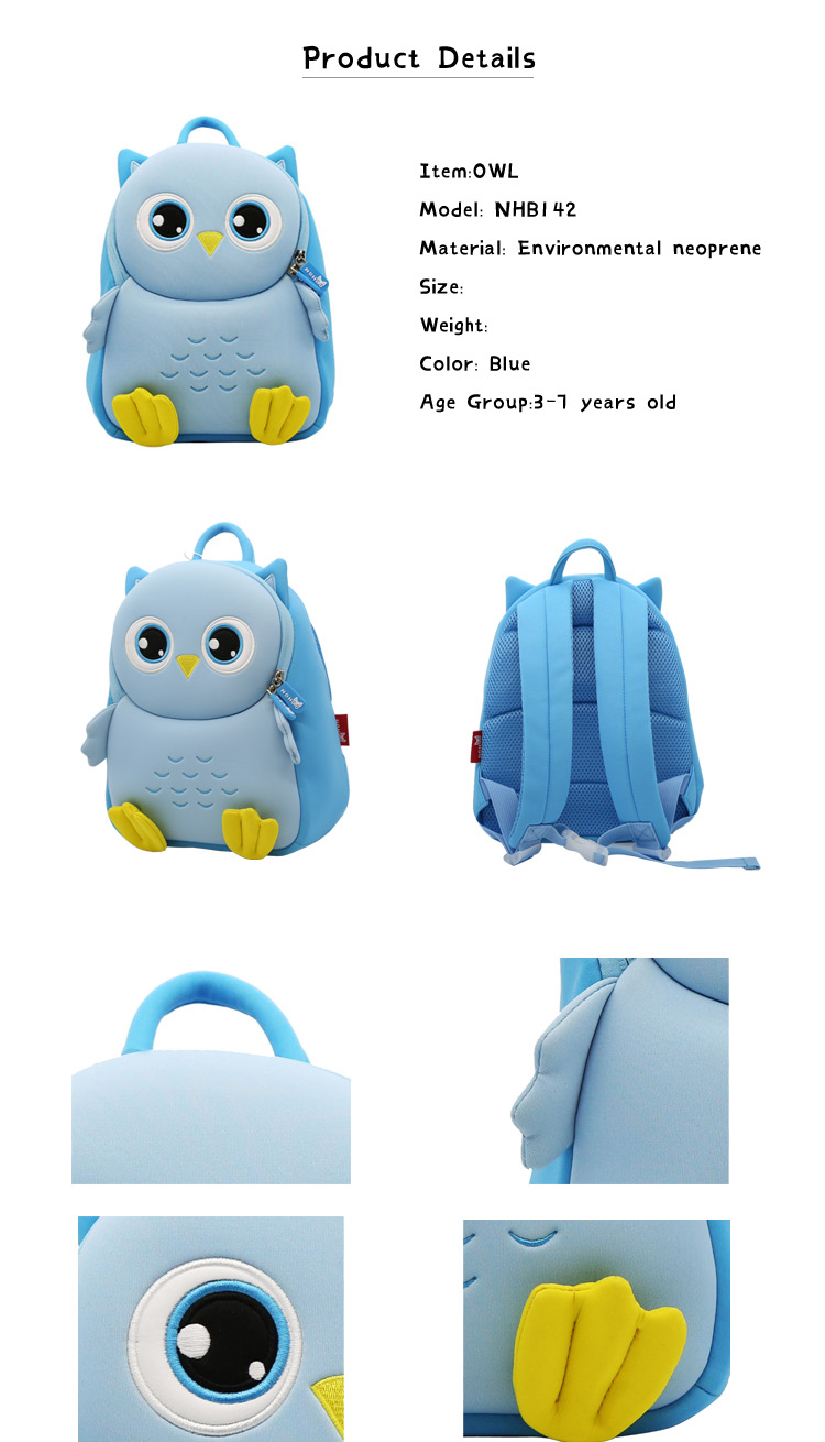 Nohoo Children Products-Professional Custom Kids Backpack Personalised Boys Backpack
