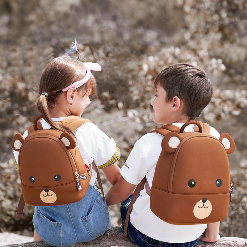 Nohoo Children Products-Children Backpack New Design Bear Backpack For Preshcool-2
