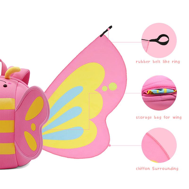 Nohoo Children Products-Girls Backpack kindergarten neoprene backpack for girls-1