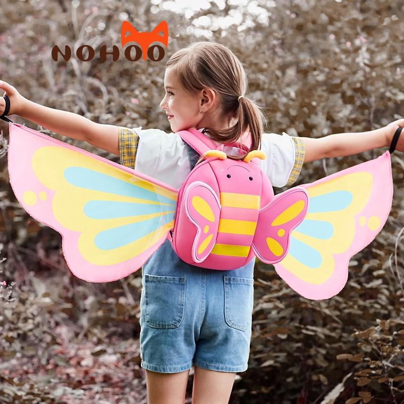 Nohoo Children Products-Girls Backpack kindergarten neoprene backpack for girls-2