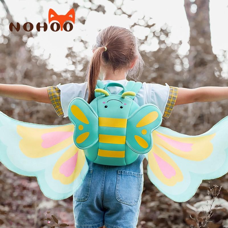Nohoo Children Products-Girls Backpack kindergarten neoprene backpack for girls-3