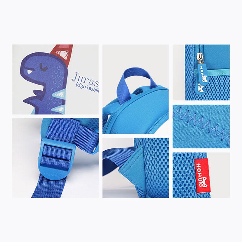 Nohoo Children Products-Kids School Backpack | New Design Dinosaur Neoprene-1