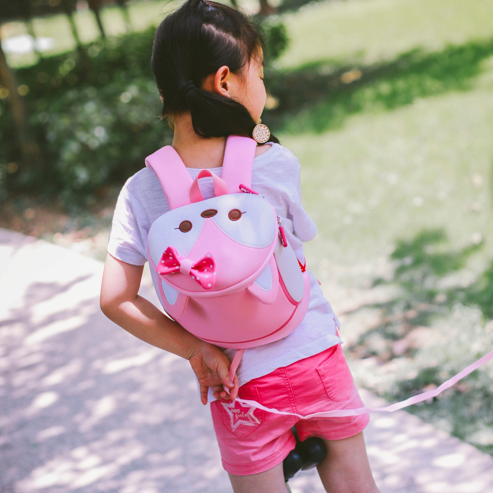 Nohoo Children Products-Nohoo Factory Wholesale Neoprene Lightweight Animal Zoo Backpack-6
