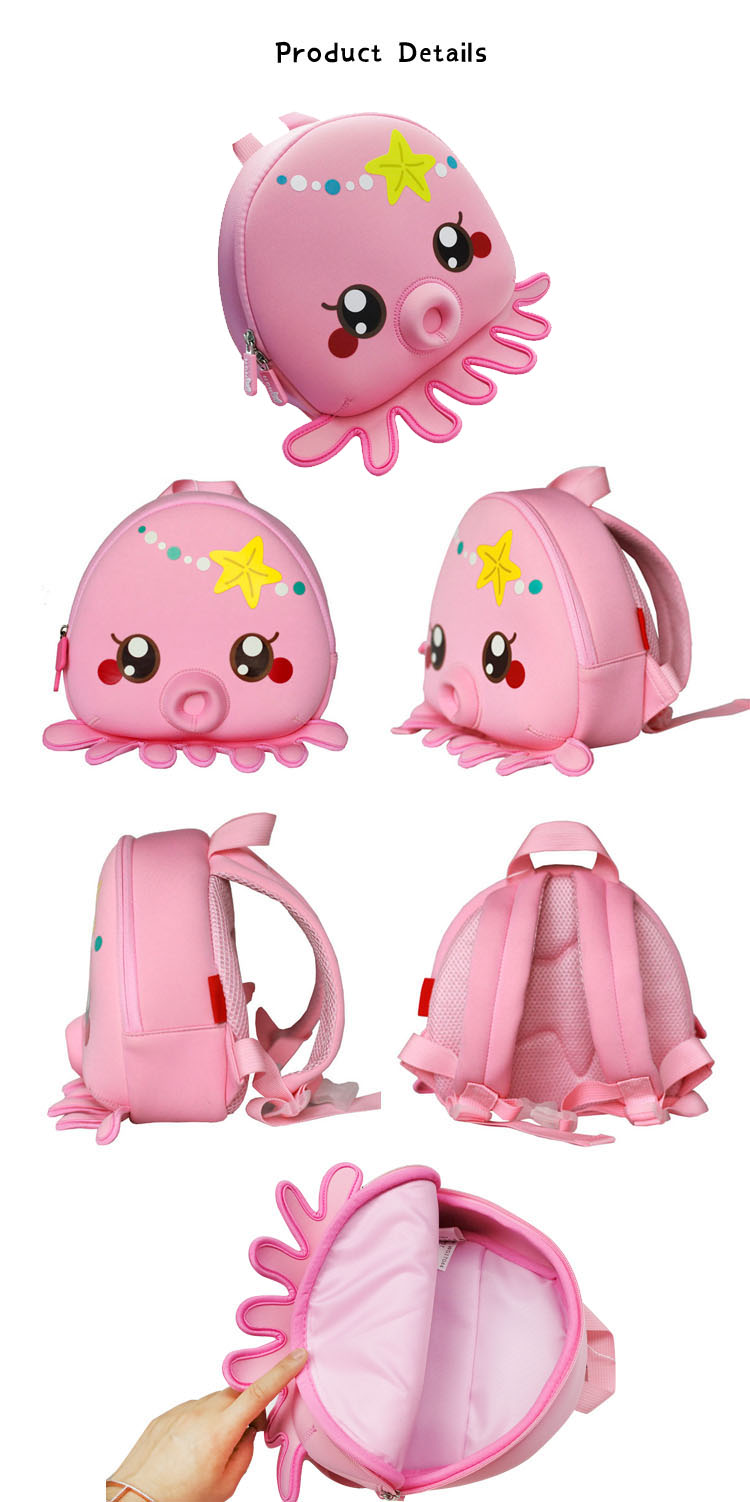 Nohoo Children Products-New Arrival Lovely Cartoon Children School Bag Backpack