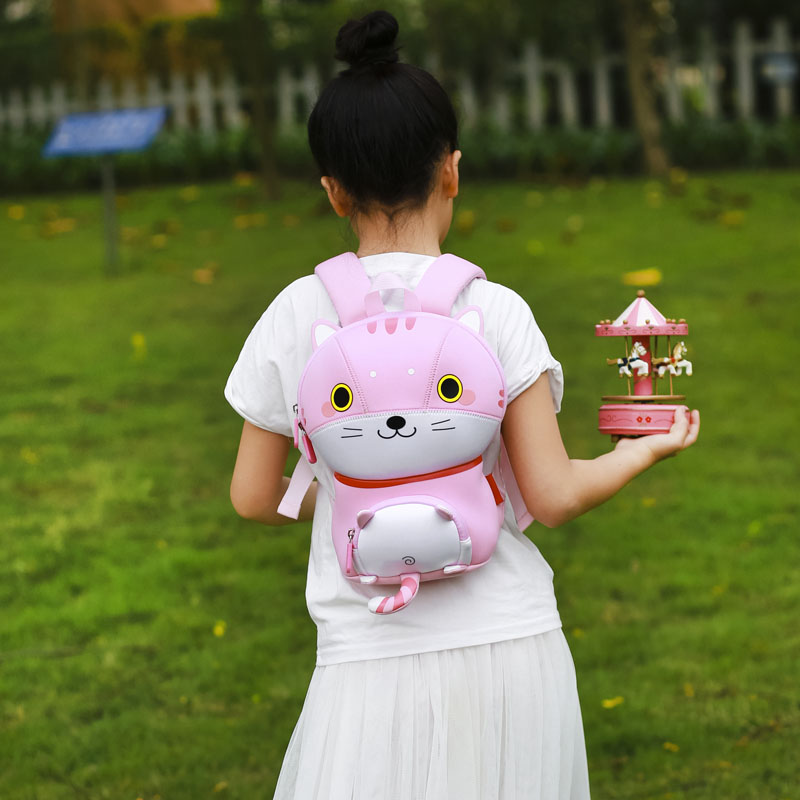 Nohoo Children Products-Wholesale Eco-friendly Customized Kids Animal School Backpack Bag-4