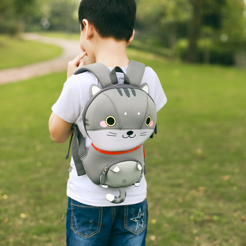 Nohoo Children Products-Wholesale Eco-friendly Customized Kids Animal School Backpack Bag-6