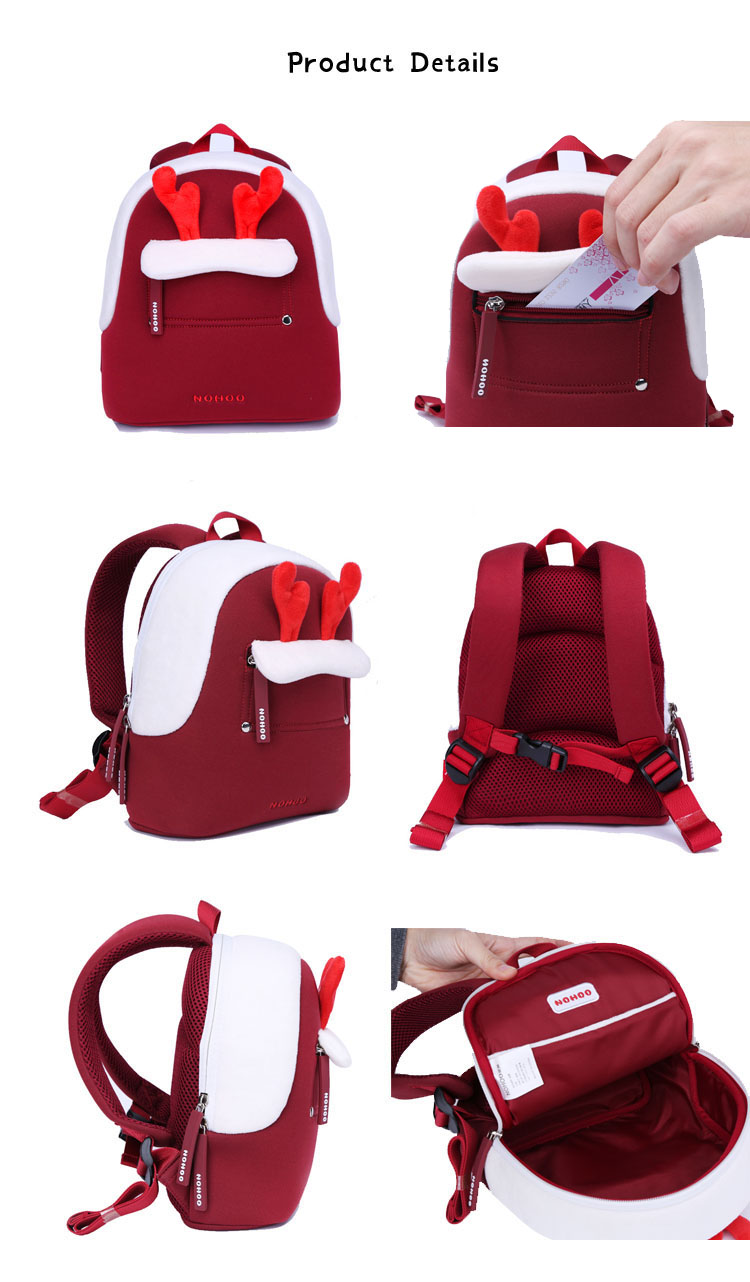 Nohoo Children Products-Nohoo Latest Design Neoprene Toddler Cute Travel Backpack