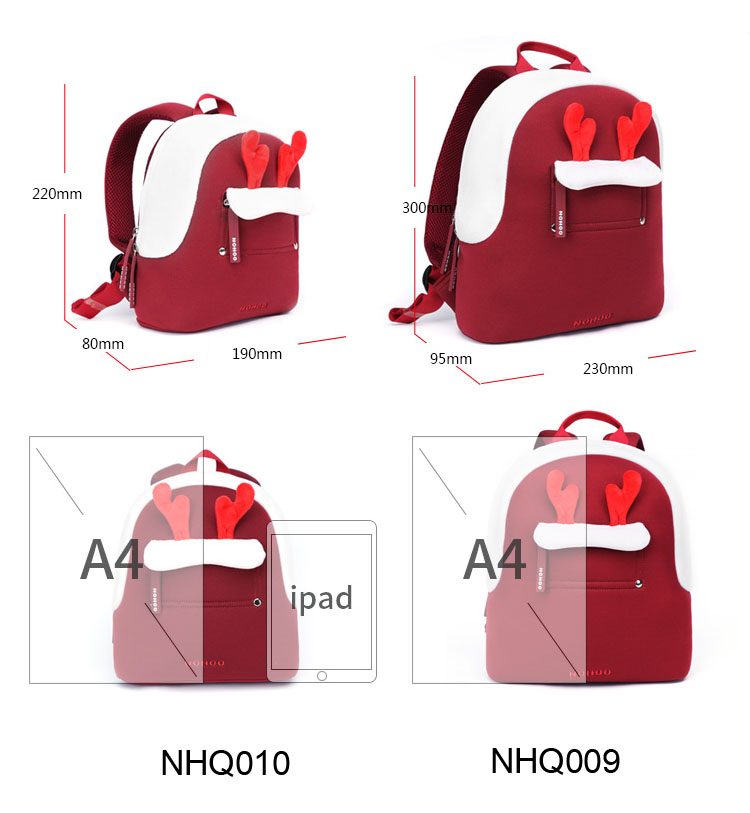 Nohoo Children Products-Nohoo Latest Design Neoprene Toddler Cute Travel Backpack-1