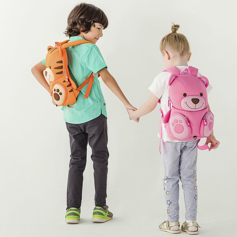 Nohoo Children Products-Nohoo Neoprene Eco-friendly Kids School Bag Preschool Backpack-5