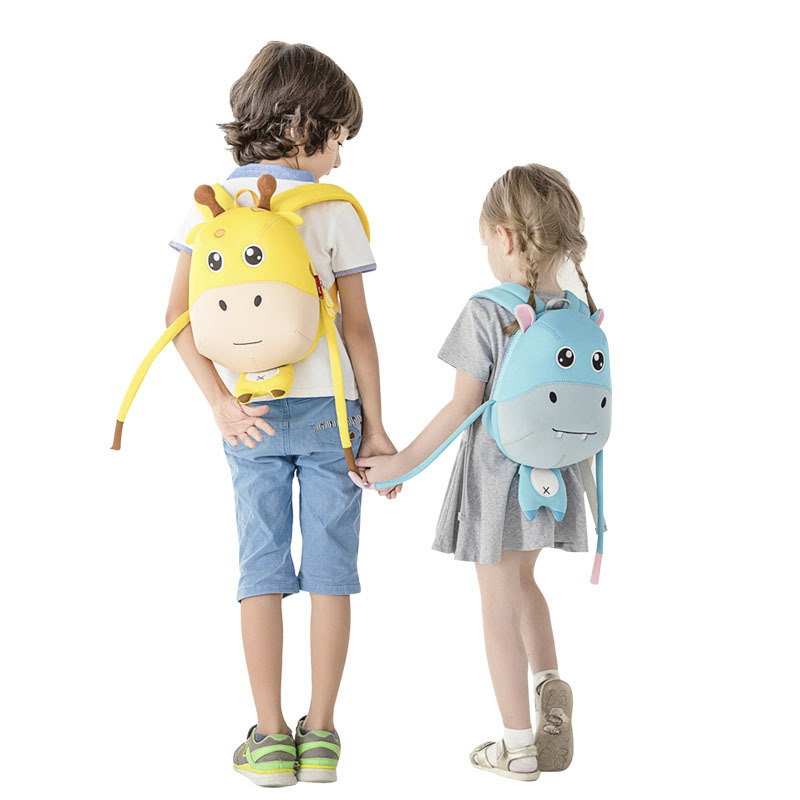 Nohoo Children Products-Wholesale Soft Lightweight Anti Lost Kindergarten Backpack For school-4
