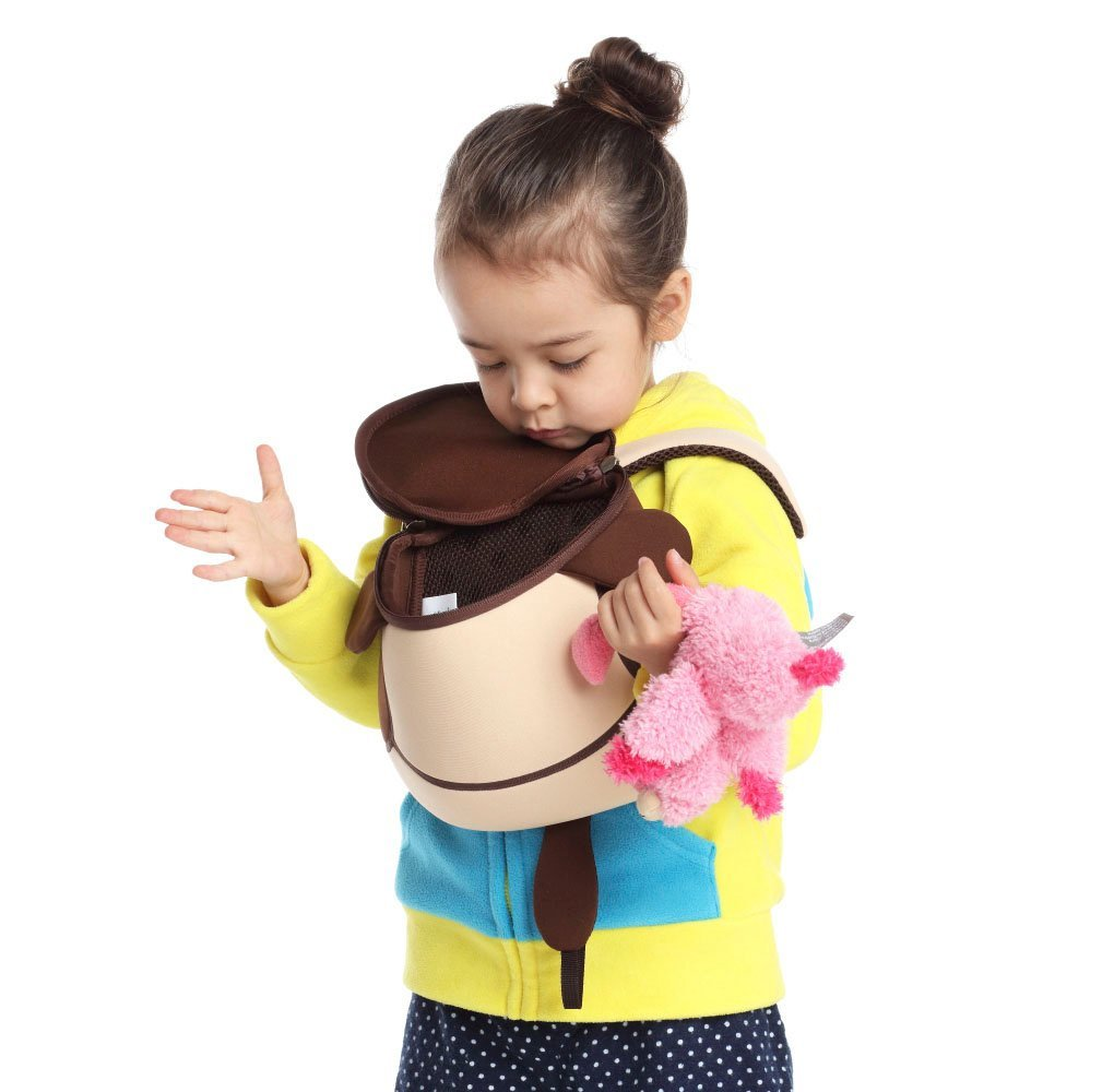 Nohoo Children Products-Nh049 Popular Softback Neoprene Children Anti Lost Backpack For Kids-5