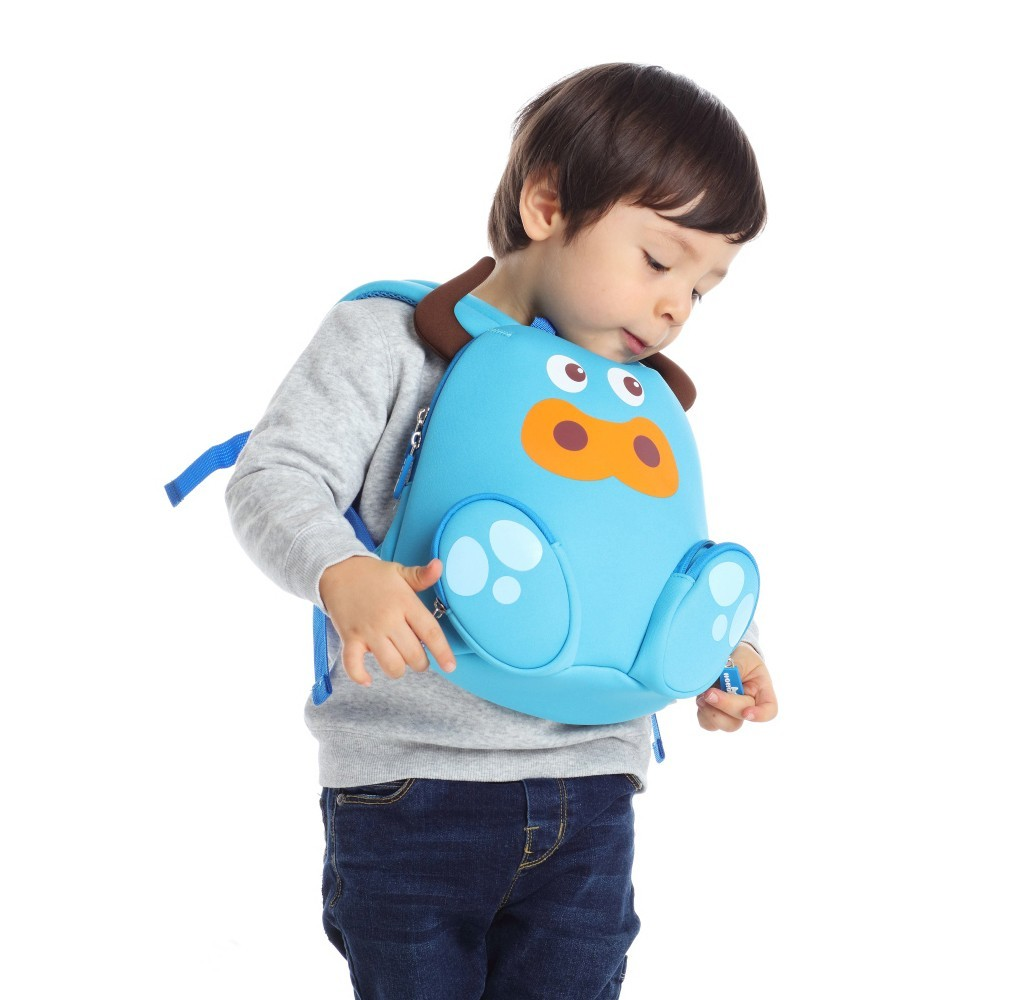 Nohoo Children Products-Nh045 Cattle Animal Children Backpack Camping Bags For Small Kids-4