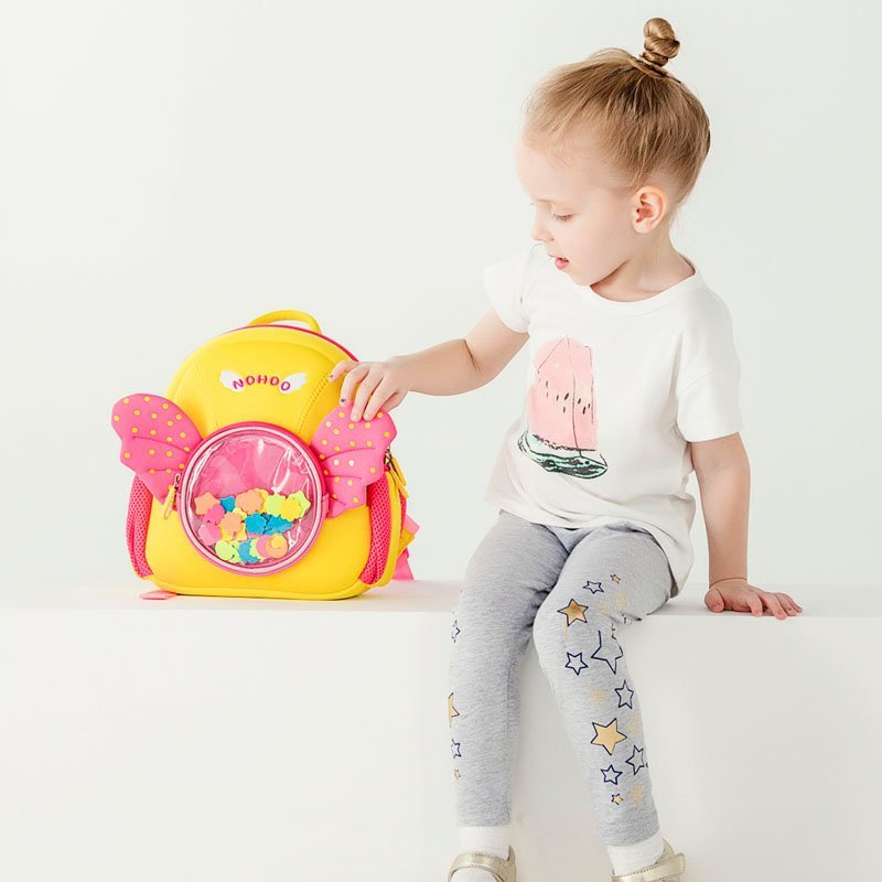 Nohoo Children Products-Nh030 Angel Style Premium Durable Waterproof Neoprene Backpacks-5