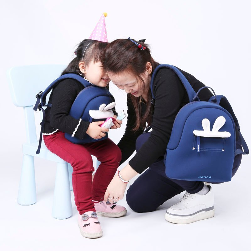 Nohoo Children Products-Luxury Baby Bags Neoprene Plush Lightweight Outdoor Travelling-5