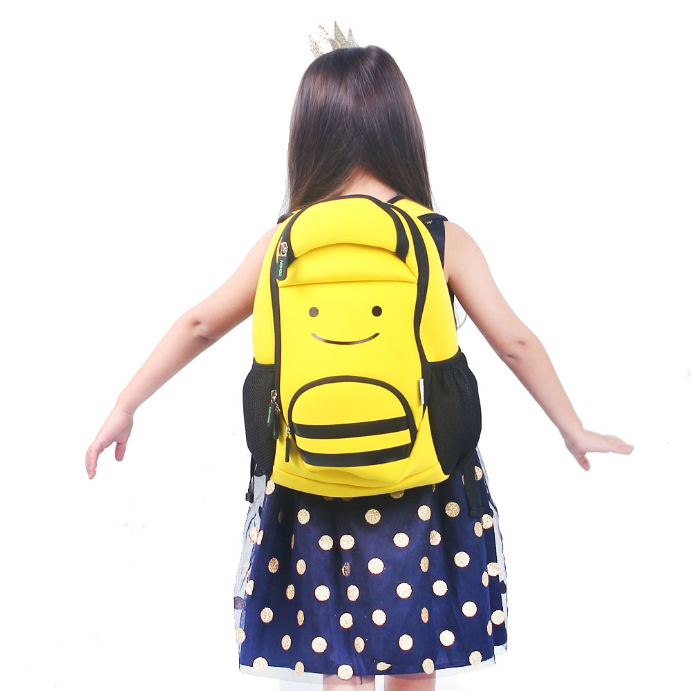 Nohoo Children Products-Ultra Lightweight Kids Backpack Animal Bee Preschool Children Bag-4