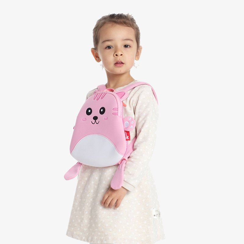 Nohoo Children Products-Nh055 Comfortable Light Neoprene Lovely Cat Animal Mini Bag For Baby-4
