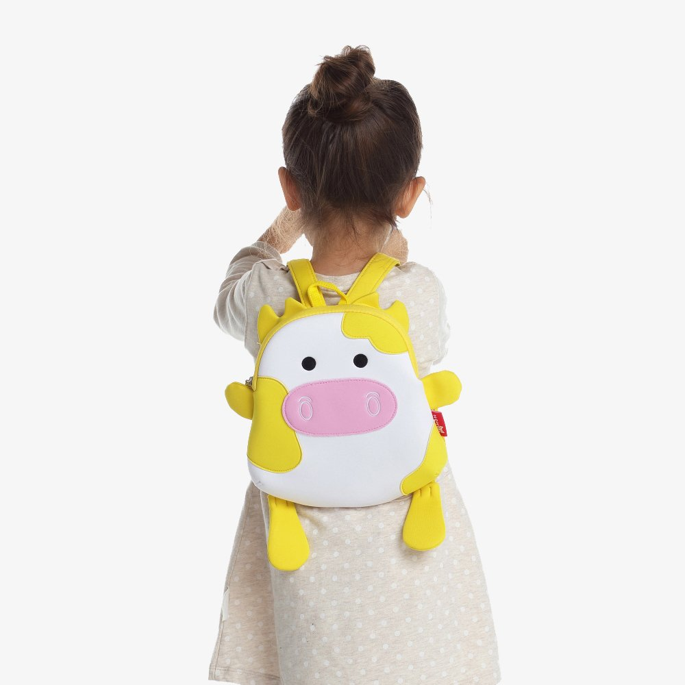 Nohoo Children Products-Nh054 Cow Neoprene Animal Children Bag Toddlers Daily Backpack-3