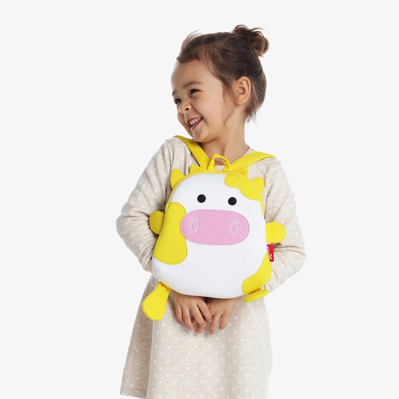 Nohoo Children Products-Nh054 Cow Neoprene Animal Children Bag Toddlers Daily Backpack-4